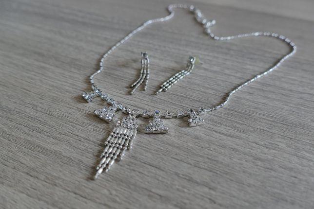 Biżuteria (naszyjnik + kolczyki)