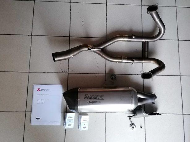 Coletores Akrapovic + Ponteira Akrapovic R1200 GS ou GSA K50 ou K51