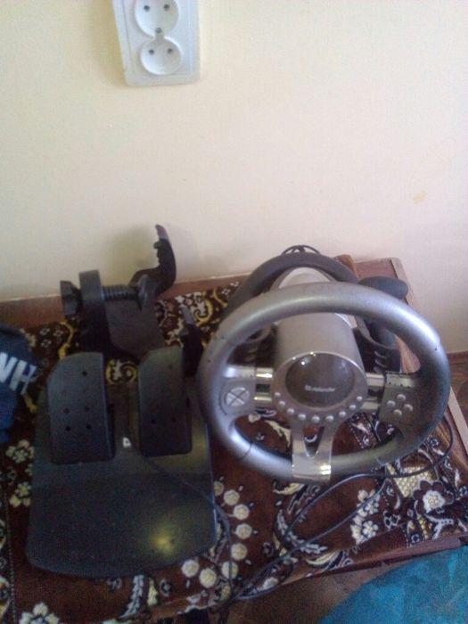 Игровой руль и педали до компютера Светловодск - изображение 1