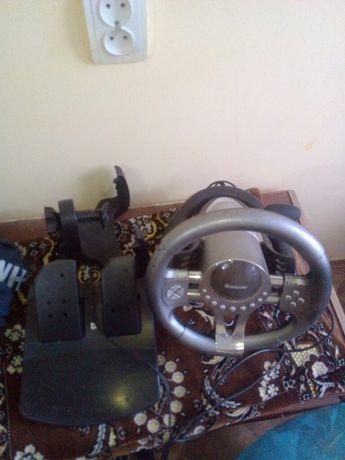 Игровой руль и педали до компютера