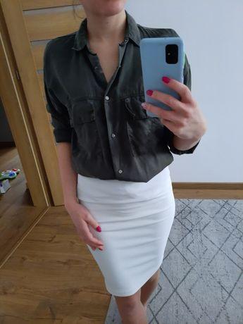 Koszula elegancka khaki oversize