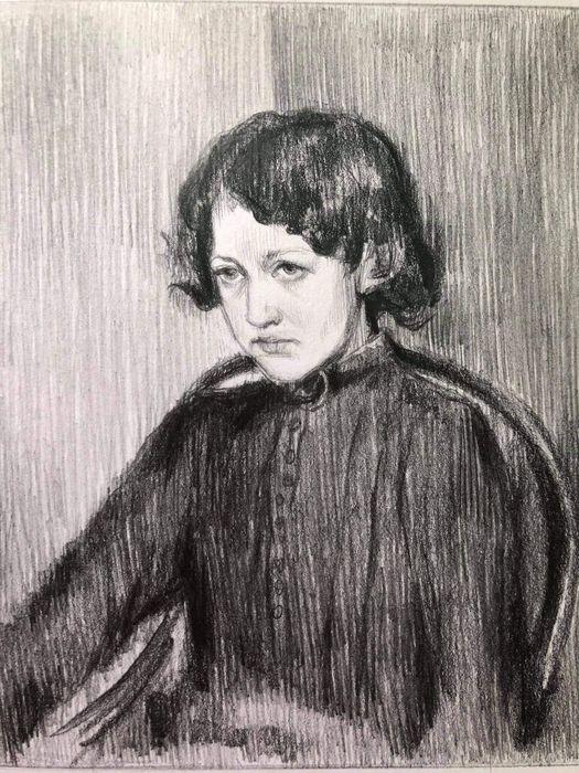 По мотивам В. А. Серова «Портрет Прасковьи Мамонтовой» Одесса - изображение 1