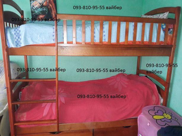 Двухъярусная кровать Карина Люкс усиленная от производителя, дерево