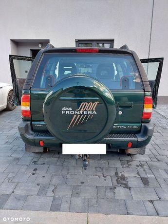 Opel Frontera Opel Frontera 1999 w dobrym stanie