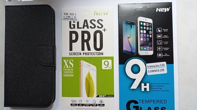 Nowy pokrowiec Xiaomi Redmi Note 9 + szkło hartowane+ szkło do sgh J5