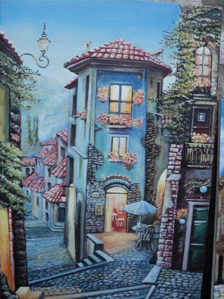 Картины маслом и сувениры из гипса в ассортименте и под заказ