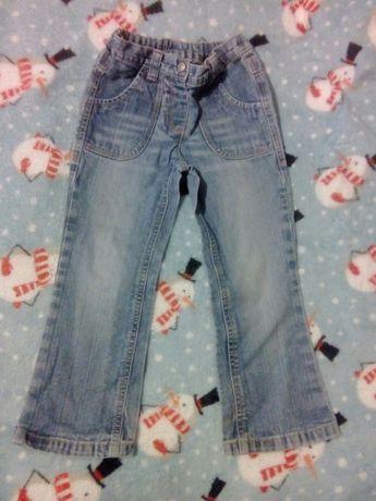 Spodnie dziewczęce 110.