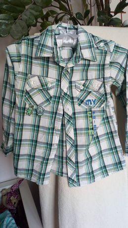 Ubrania chłopięce rozmiar 122 cm