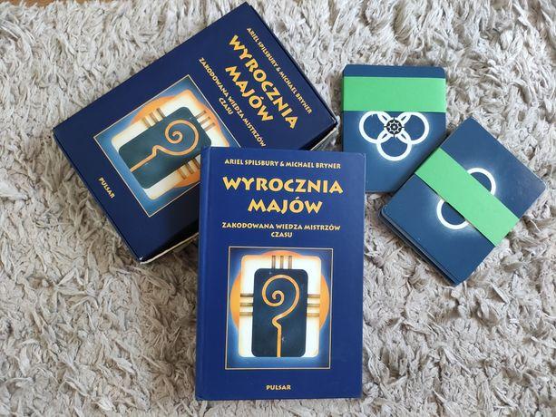 Wyrocznia Majów zakodowana wiedza mistrzów czasu, książka + karty