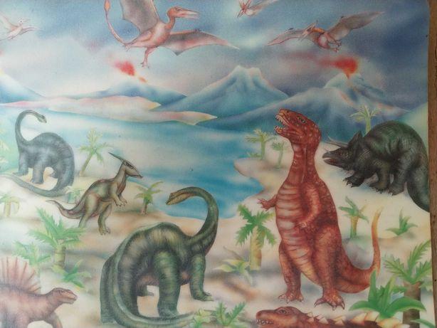Коврик для мыши динозавры