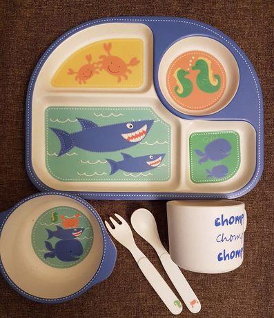 Детская посуда, дитячий посуд, набор детской посуди