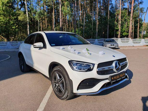 Auto do ślubu, samochód do ślubu nowy Mercedes GLC Coupe 2020
