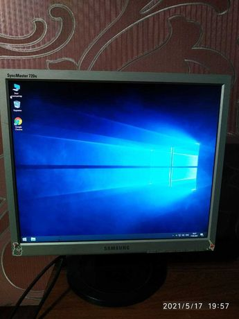 "Монитор  17"" Samsung SyncMaster 720N черный 1280x1024"