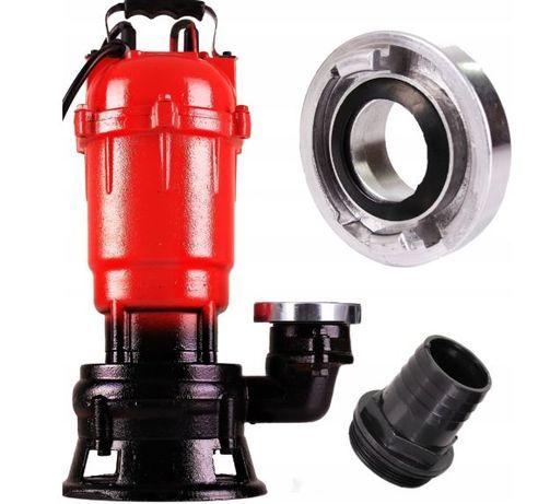 Pompa do szamba wody brudnej czystej + fastfix