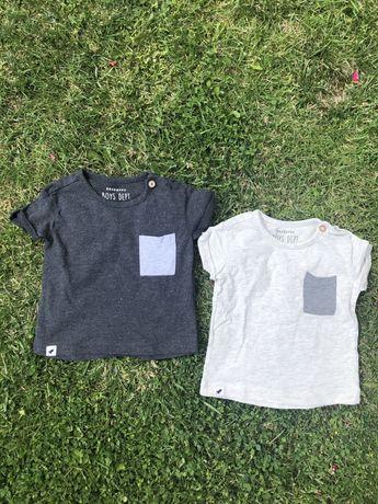 Koszulki na lato reserved rozm 74 jak nowe
