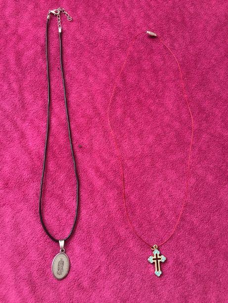 новые серебряные украшения обереги крестик