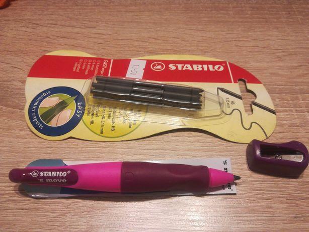 Ołówek Stabillo Move leworęczny Nowy z Rysikami