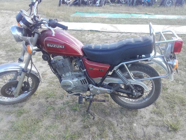 Suzuki gn400 gn 400 silnik moduł bak lagi koło gaźnik felga części