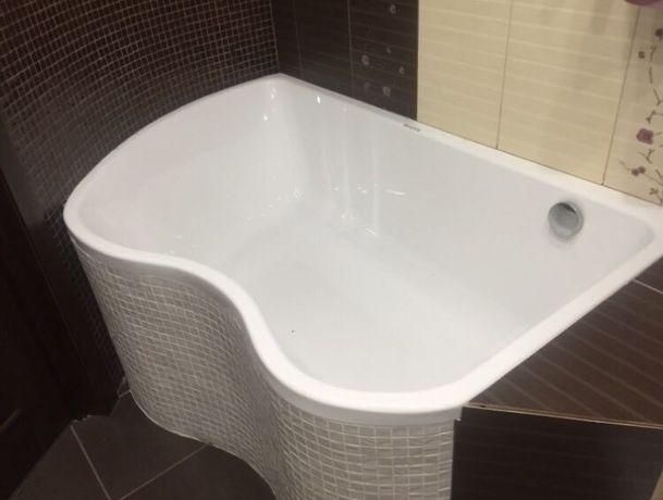 Нестандартные акриловые ванны и поддоны. Нестандартные размеры.