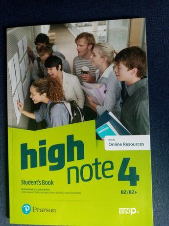 High Note 4 Student's Book with Online Resources NOWA NIE UŻYWANA