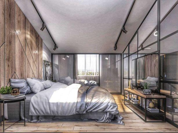 2-уровневая квартира с террасой в новом малоэтажном доме. МегаДом