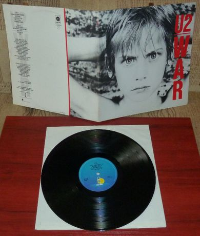 U2 WAR LP EX+ winyl polecam