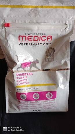 Karma dla kota z cukrzycą