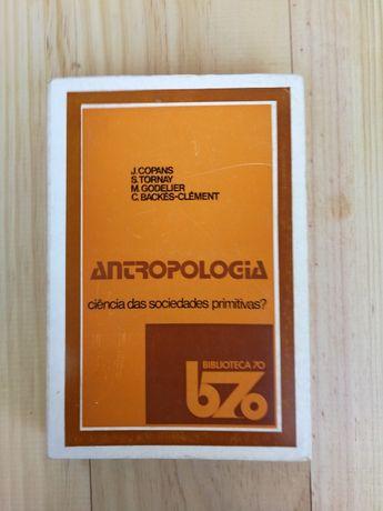 antropologia, j.copans, s. tornay, biblioteca 70
