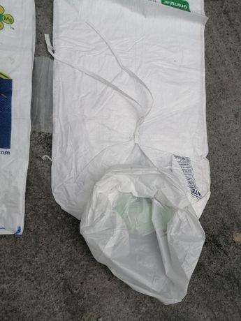 Big Bag ! Nowy worek z jednym uchywtem/wkładem foliowym 143 cm