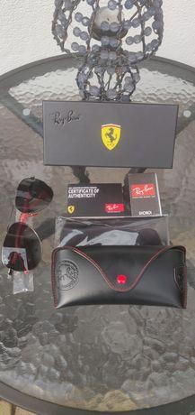 Nowe okulary przeciwsłoneczne Ray Ban model 8313 Scuderia Ferrari