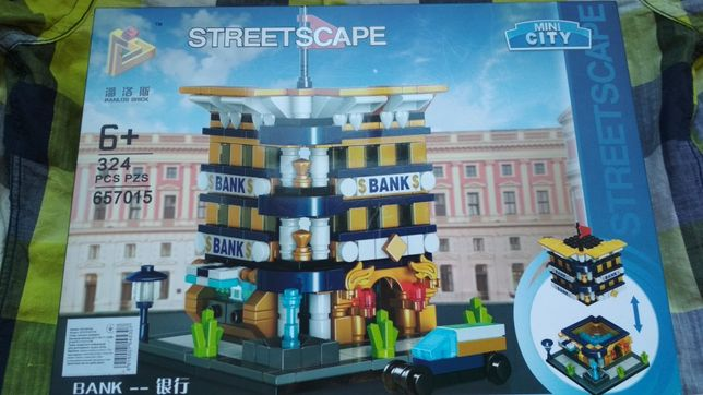 Конструктор лего mini city на 324 детали НОВЫЙ!