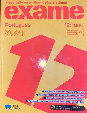 Livro preparação para o Exame Final Nacional Português 2021 12o ano