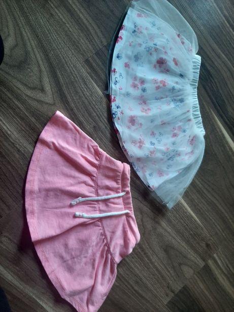 Spódniczki dla dziewczynki rozm.74