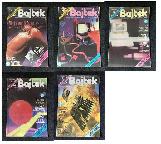 BAJTEK Czasopismo - 1987 - nr 1-12