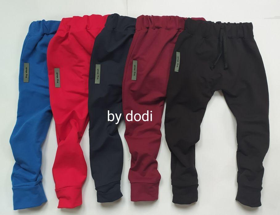 Spodnie dresowe, gladkie, ocieplane, 10 kolorow, r68-134 Brzeziny - image 1