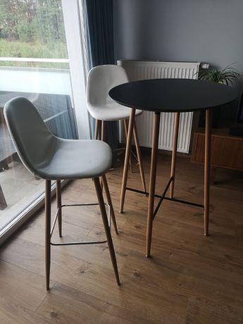 Stolik barowy z 2 krzesłami JONSTRUP