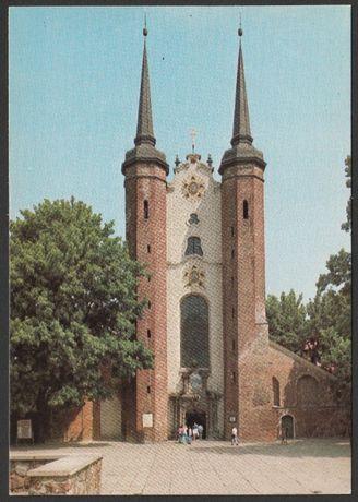 pocztówka - Gdańsk Oliwa 1979 - Katedra