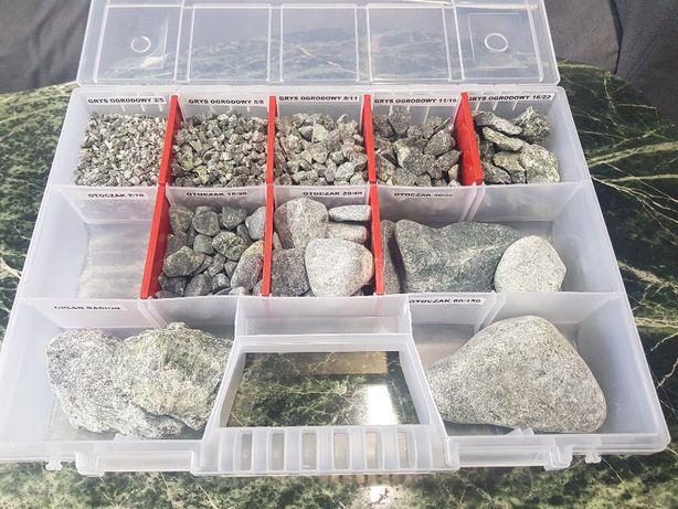 Kamień Ogrodowy Grys 16-22 Zielony Serpentynit Green ozdobny 27 ton
