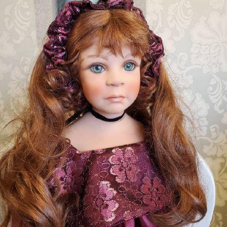 Коллекционная фарфоровая кукла от Rubydoll