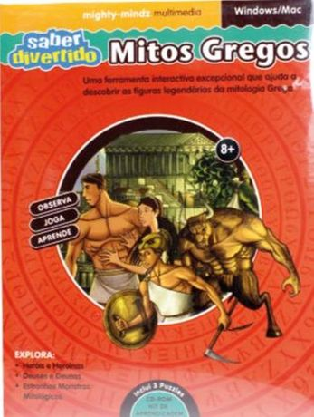 Kit CD Rom - Mitos Gregos 3.ano escolar