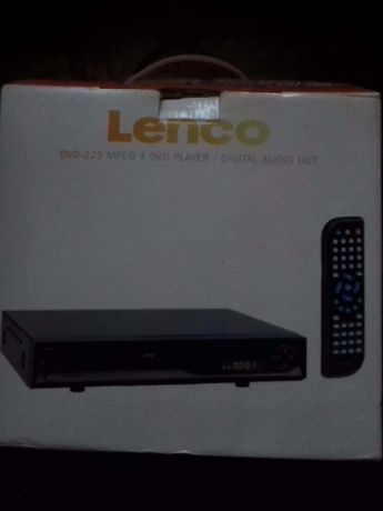 Odtwarzacz DVD Lenco DVD-225 DivX XviD NOWY nieużywany!