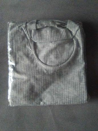 Nowa Sweterkowa Sukienka z chokerem