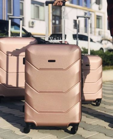 Чемодан дорожний валіза 4 колеса модель 147 чемодан сумка дорожн