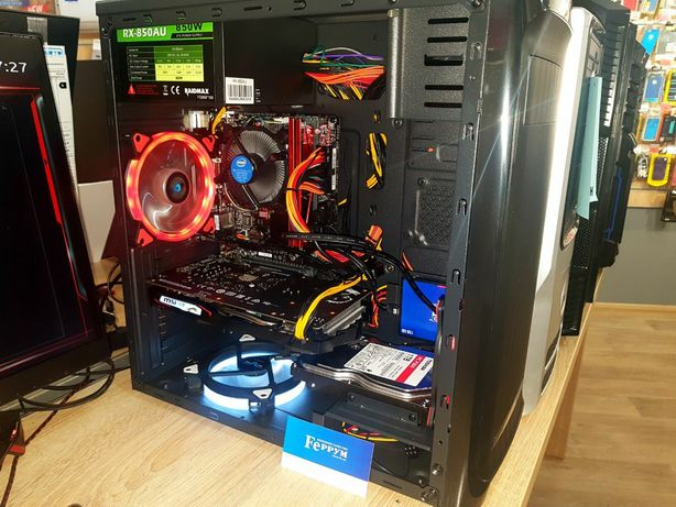 Компьютер игровой новый i5/16Gb/RTX2060/SSD480