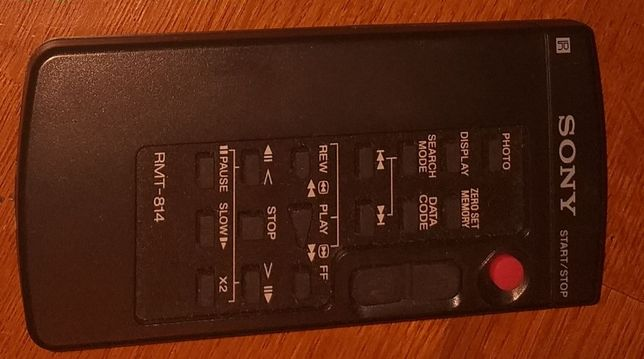Pilot Sony RMT-814 do kamery