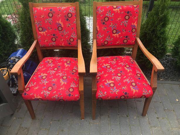 pięne WZORZYSTE krzesła
