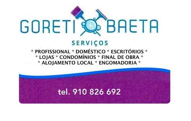 Goreti Baeta, Serviços de Limpezas