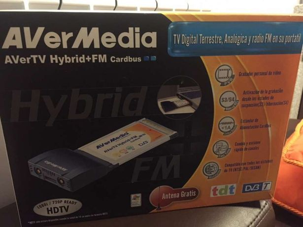 AverTV Hybrid + FM Cardbus