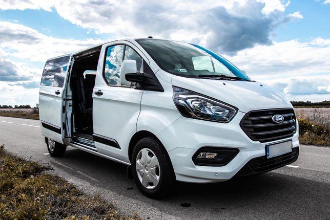 Bus 9-osobowy Wynajem do Wynajęcia Ford Transit Custom