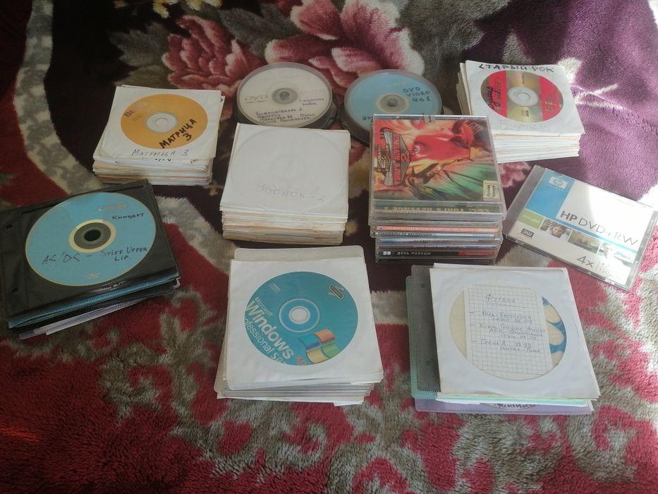 Продам около 200dvd, CD с фильмами, музыкой, футболом, ПО, играми. Пойма - изображение 1